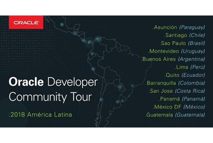 Perú fue sede el Oracle Developer Community LAD TOUR 2018