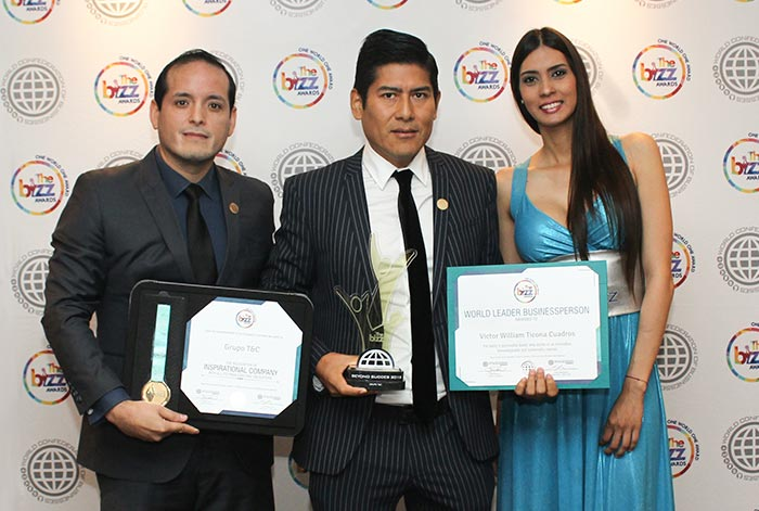 "Grupo T&C recibe premio internacional ""Beyond Success""  como empresa de excelencia"