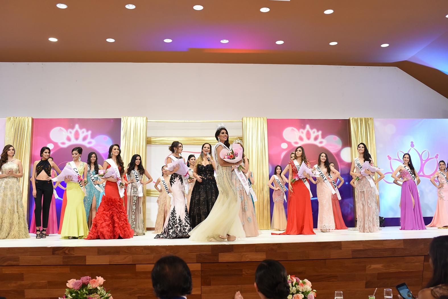 Representante de Andahuaylas se coronó como Miss Teen Model Perú 2018
