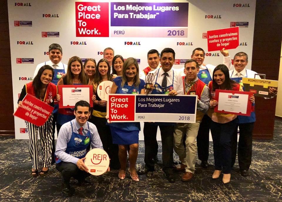 Sodimac y Maestro dentro de las mejores empresas para trabajar en Perú