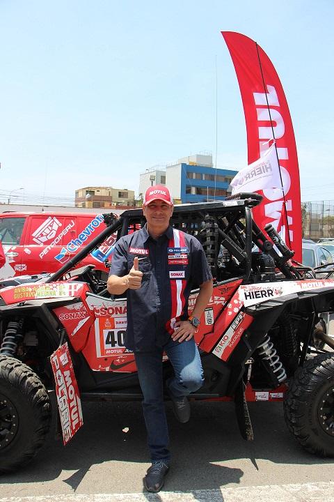 Anibal Aliaga y la 'fuerza inka' buscan liderar el Rally Dakar 2019