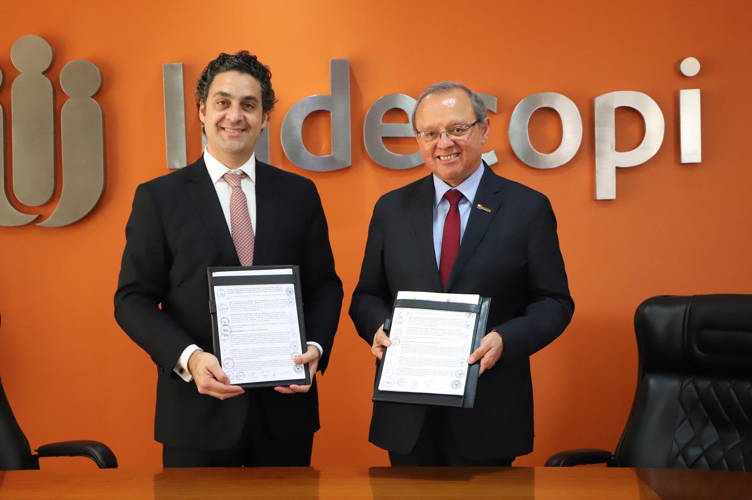 El Indecopi y SUSALUD suscriben convenio para fortalecer la defensa de los derechos de los usuarios de servicios de salud