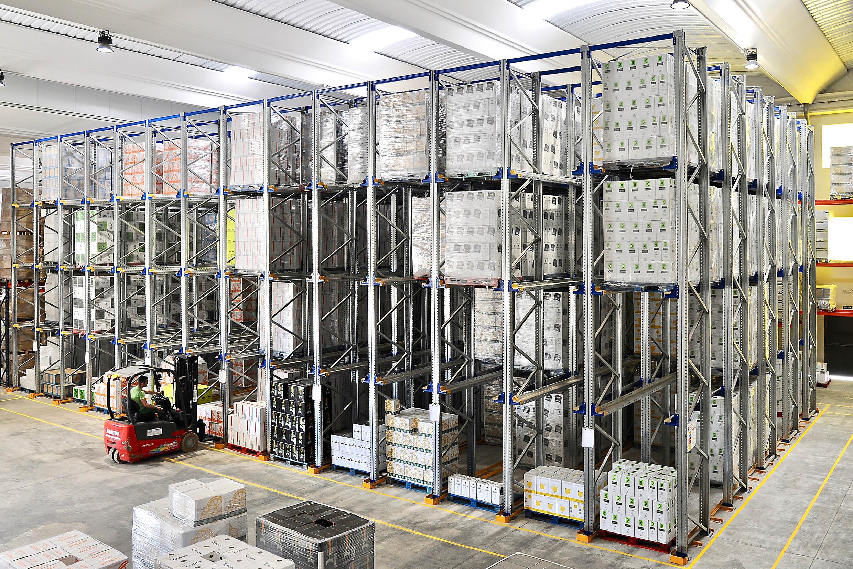 Bodegas Copaboca confía en AR Racking para el almacenaje de sus botellas de vino en Tordesillas, Valladolid