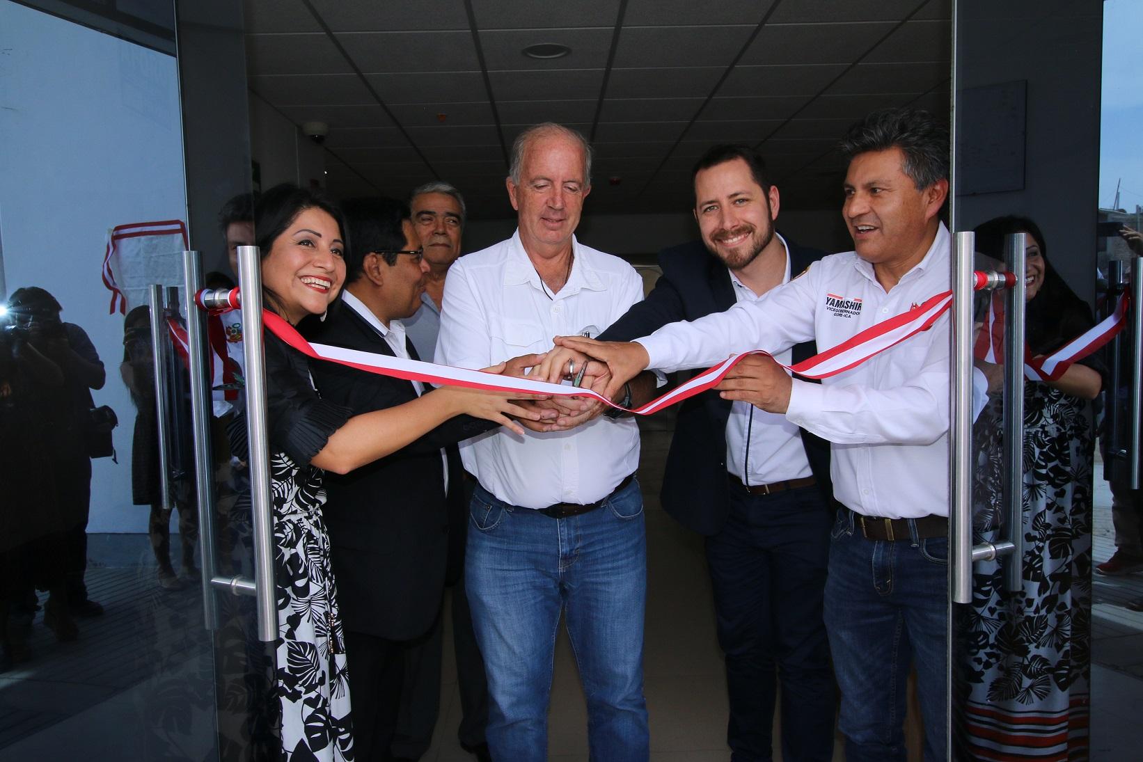 Gobierno Regional de Ica y Telefónica inauguran nuevo centro de operaciones de emergencia regional