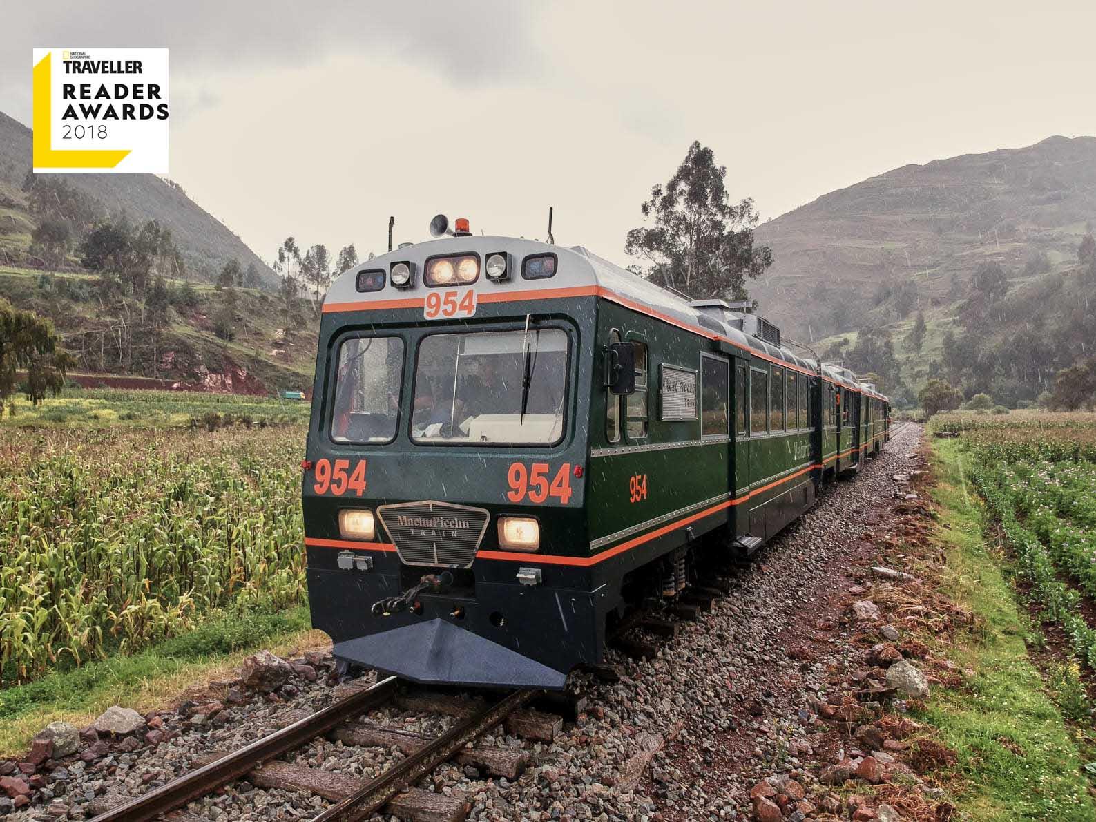 The 360° Machu Picchu Train es nominado por National Geographic Traveller a los Reader Awards 2018