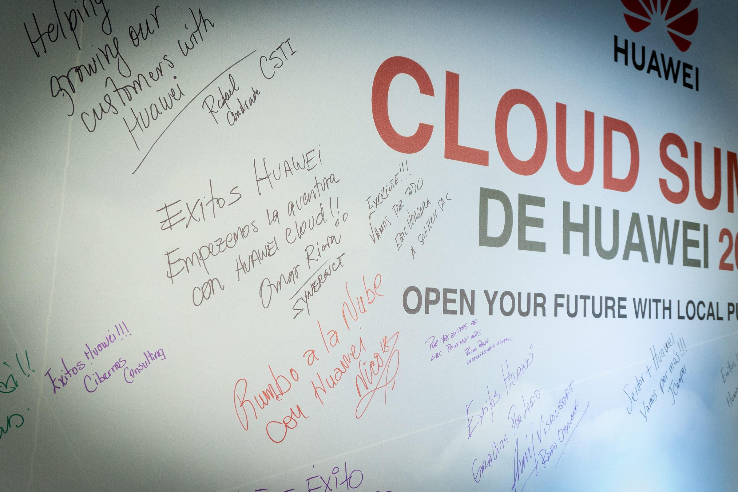 Huawei Cloud Technologies: un conjunto de soluciones de servicios en la nube para empresas, se presentan en el Huawei Cloud Summit en Lima