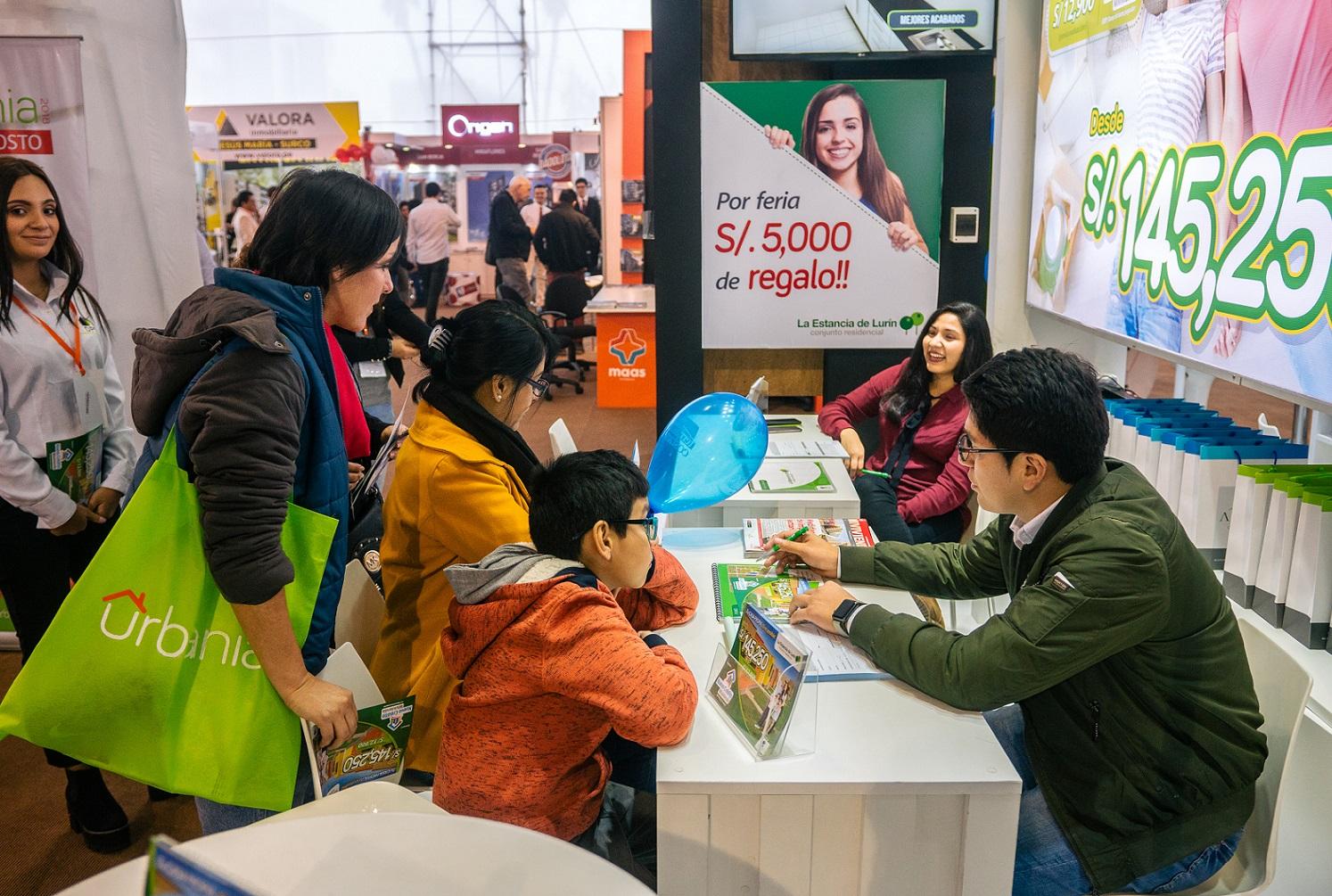 Expourbania bate récord en separaciones generando más de S/ 161 millones