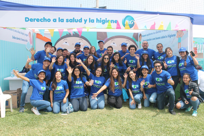 P&G promovió en más de 400 escolares el cuidado de la higiene bucal