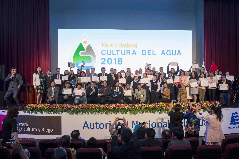 Premio Nacional Cultura del Agua 2018: se reconoce a los mejores proyectos exitosos para la conservación del agua