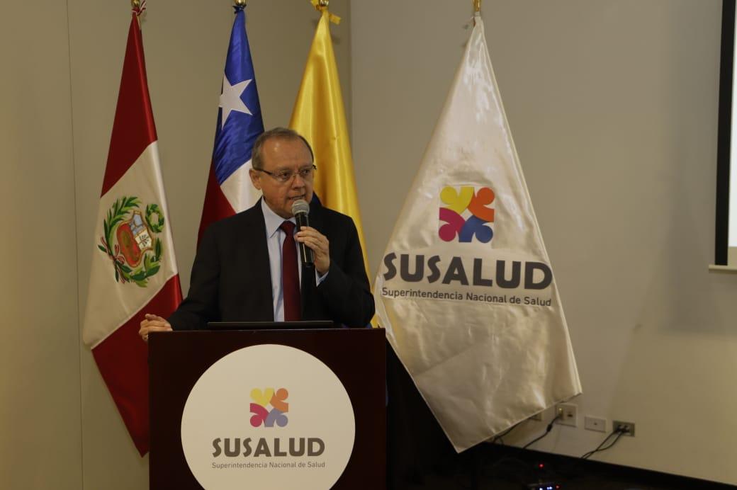 SUSALUD intercambia experiencias en temas de regulación y supervisión con Chile y Colombia