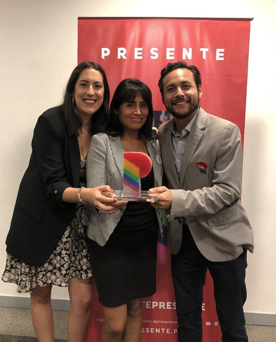 Atento Perú es reconocido por su compromiso con la promoción de equidad y respeto a la comunidad LGTB+