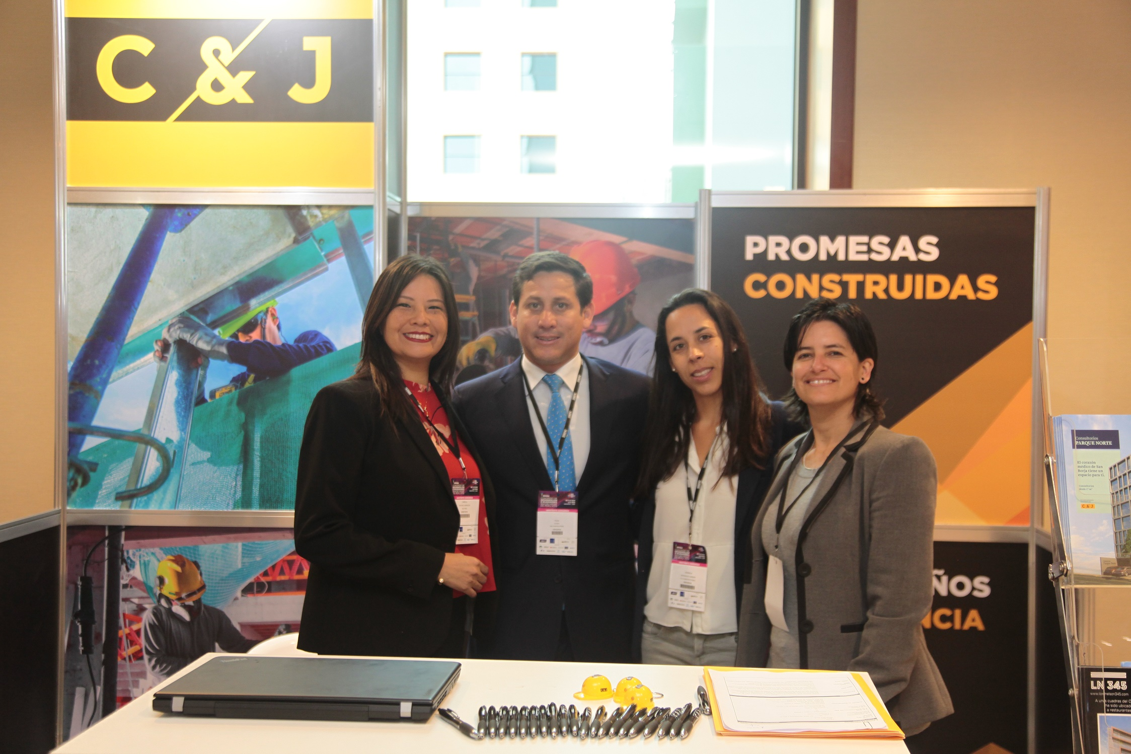 C&J Constructores participó exitosamente en el Expo Real Estate Perú 2018