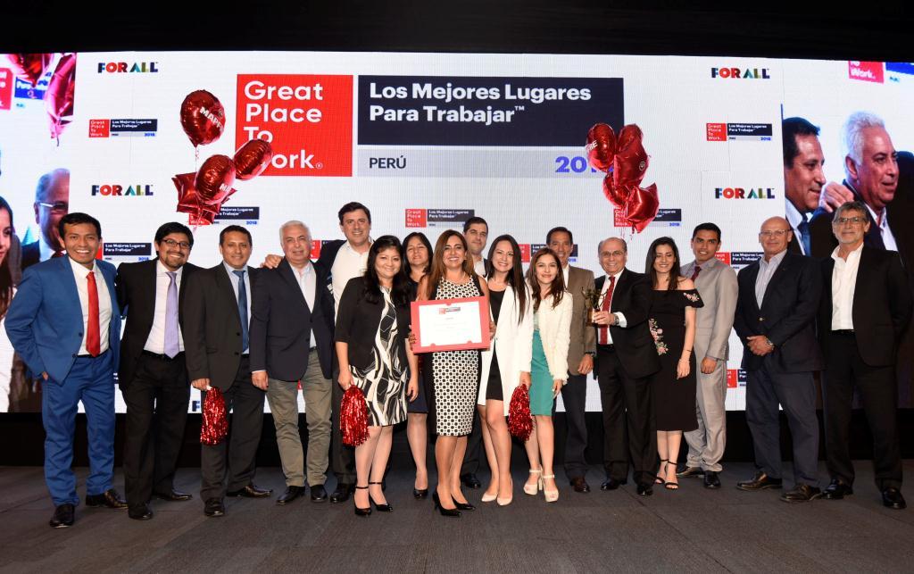 MAPFRE ascendió cuatro posiciones en Great Place to Work y destaca como única aseguradora en su categoría
