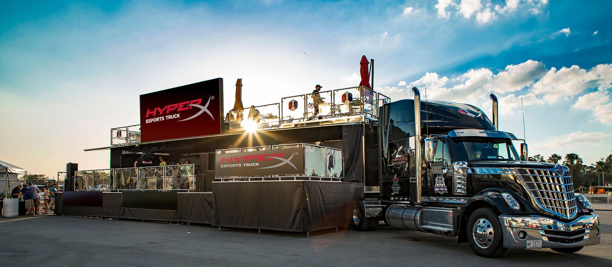 Los derechos de nombre de HyperX Esports Truck se dieron a conocer a tiempo para el CES 2019