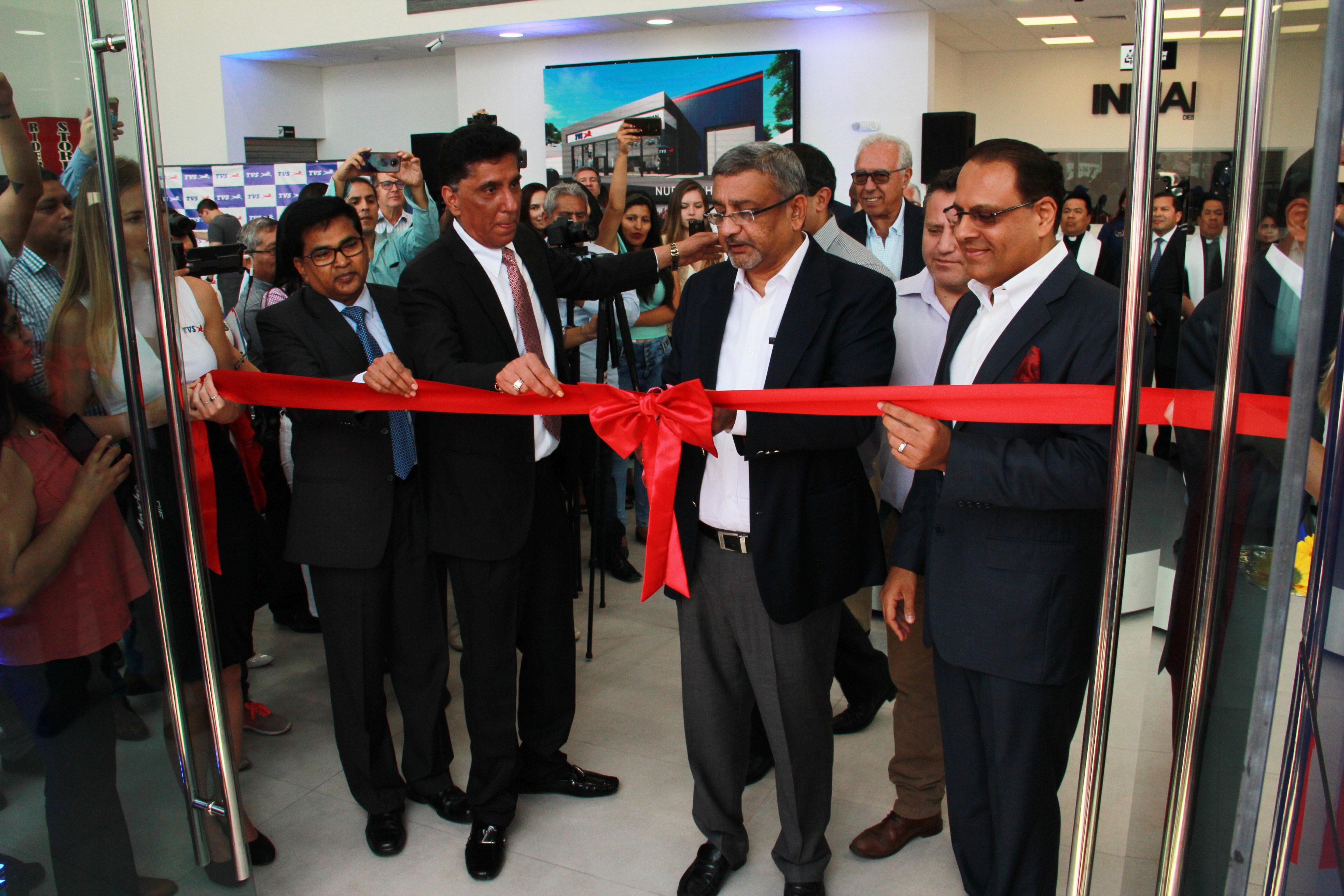 TVS Motor Company expande y consolida su presencia en el P erú con el lanzamiento de tres nuevos productos