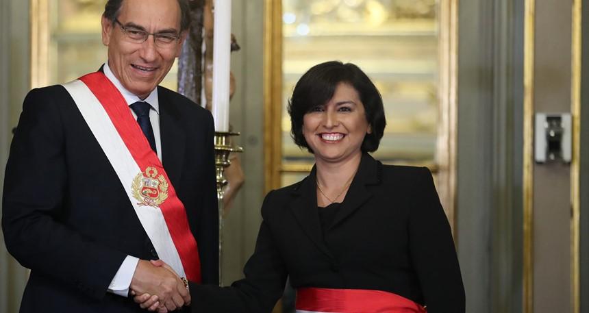 Abogada Sylvia Cáceres es la nueva ministra de Trabajo y Promoción del Empleo