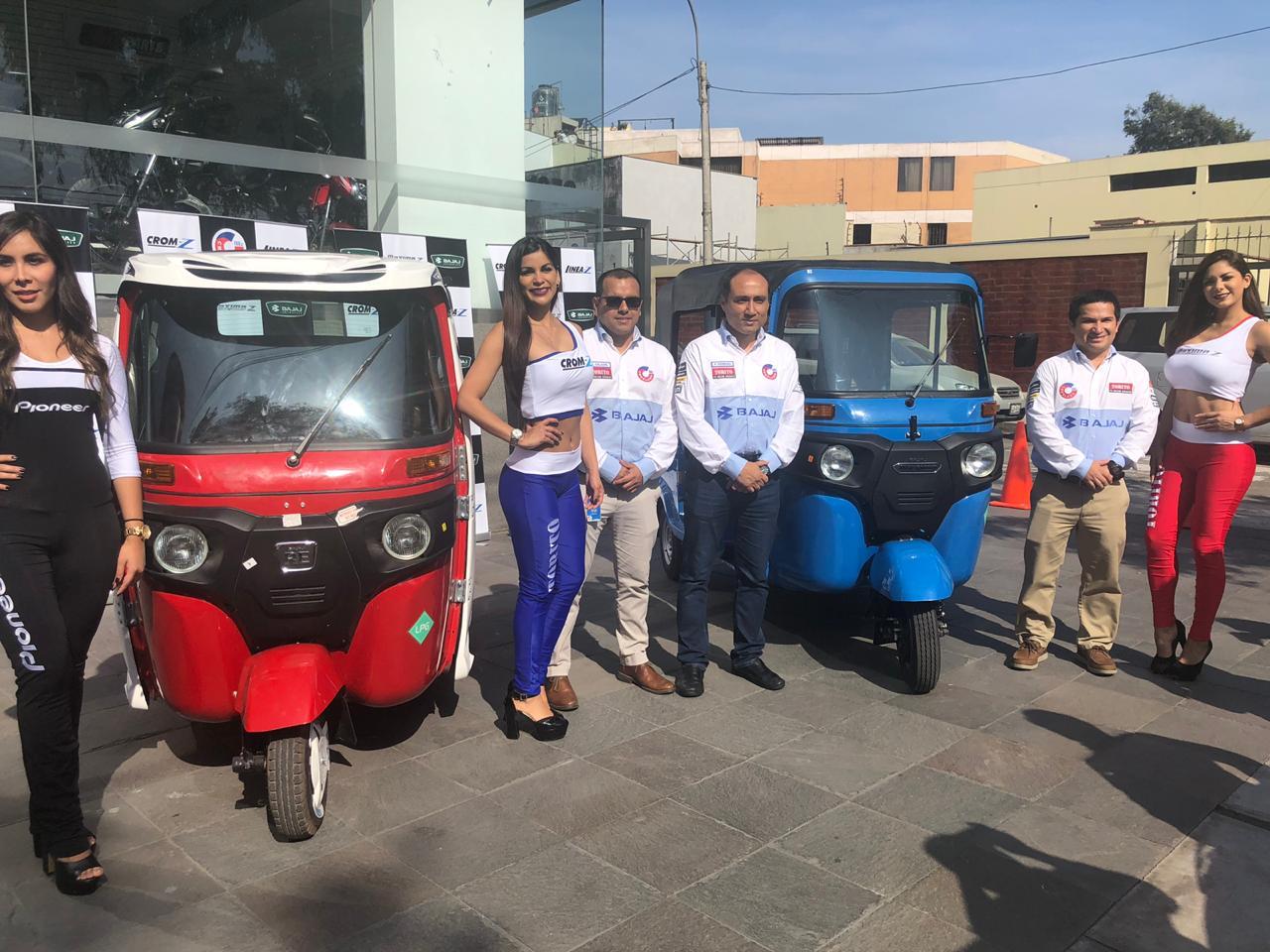 Torito Bajaj presentó en Lima los nuevos modelos CROM-Z y Maxima-Z