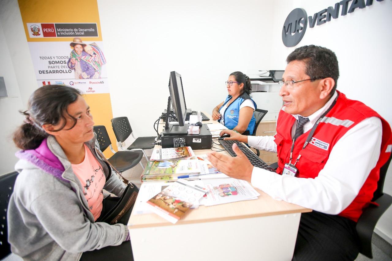 Personas en situación de pobreza accederán a información de programas sociales en Ventanilla Única Social en Pachacútec-Ventanilla