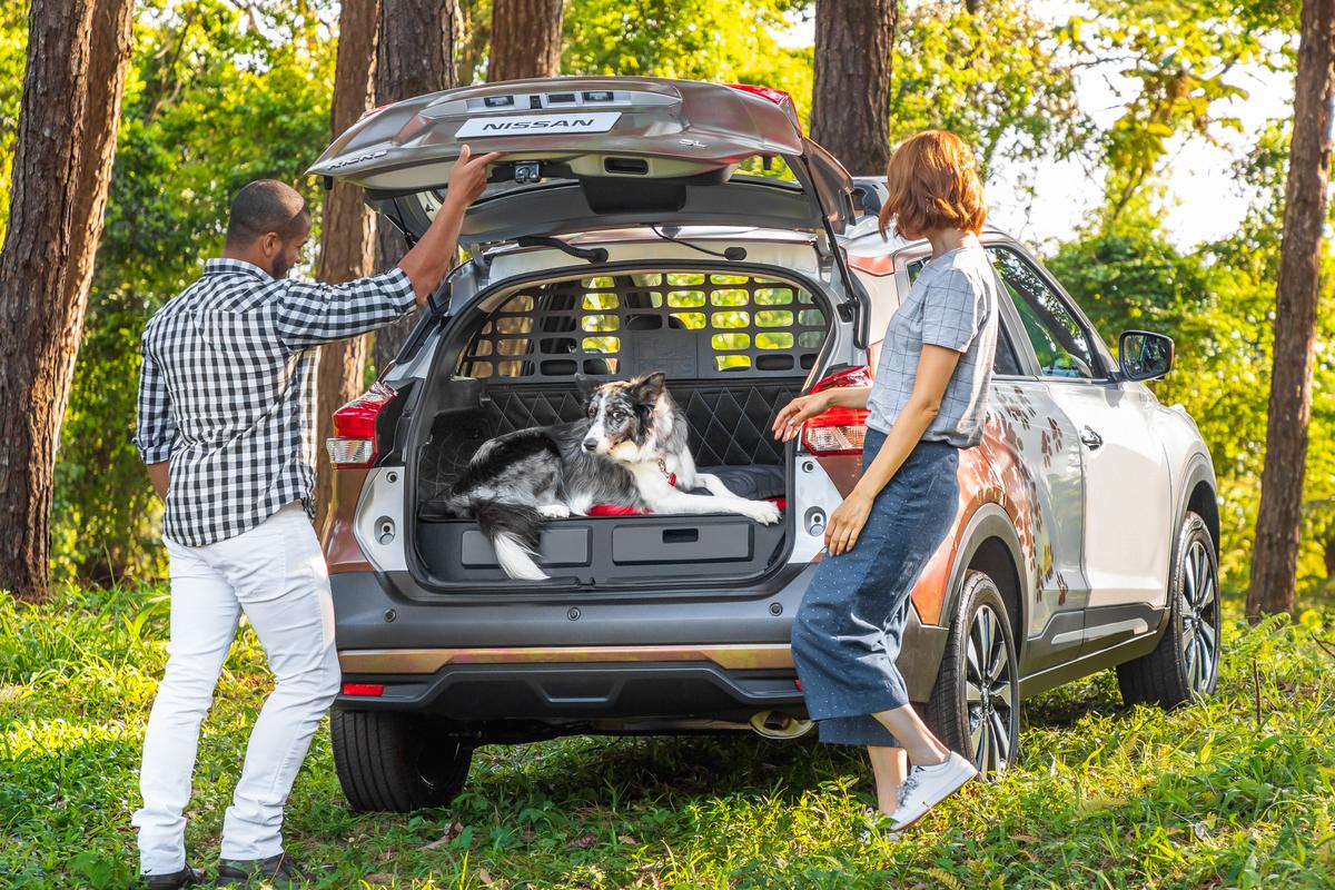 Nissan presenta el concepto Nissan Kicks For Pets: El vehículo perfecto para las aventuras de la familia con sus mascotas