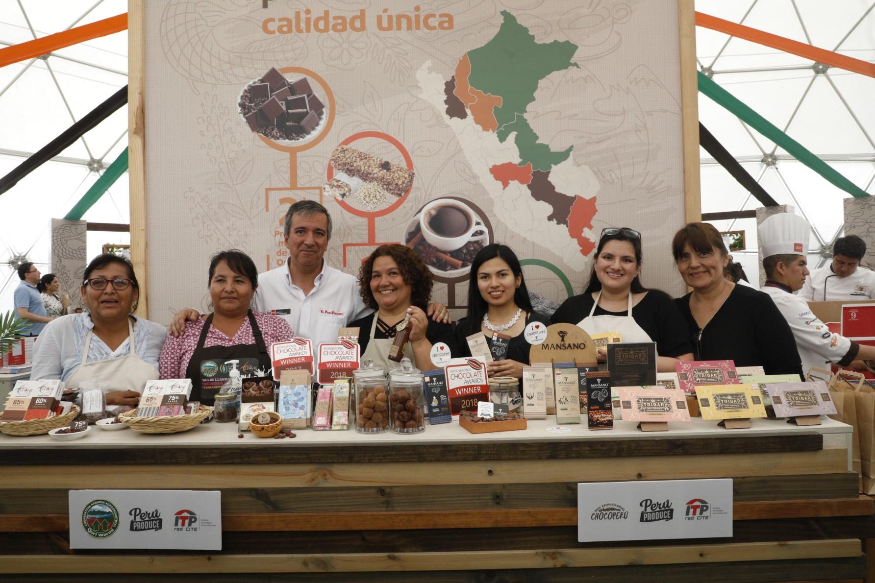 Ministro Pérez-Reyes: 200 mipymes de 22 regiones del país colocaron sus mejores productos en San Miguel