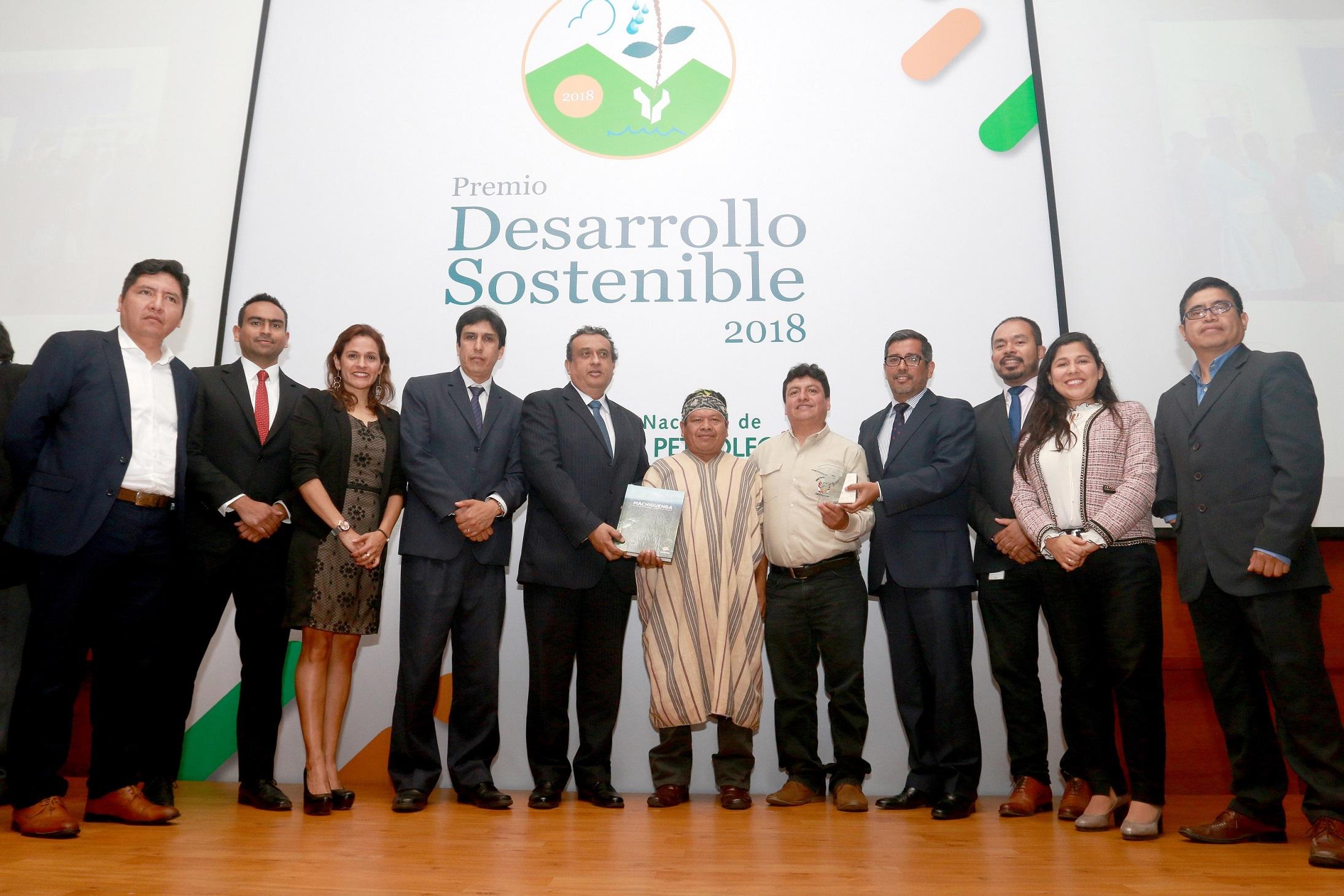 Repsol recibe premio al desarrollo sostenible otorgado por la sociedad nacional de minería, petróleo y energía