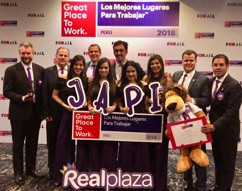 Real Plaza entre las 5 mejores empresas para trabajar en el país