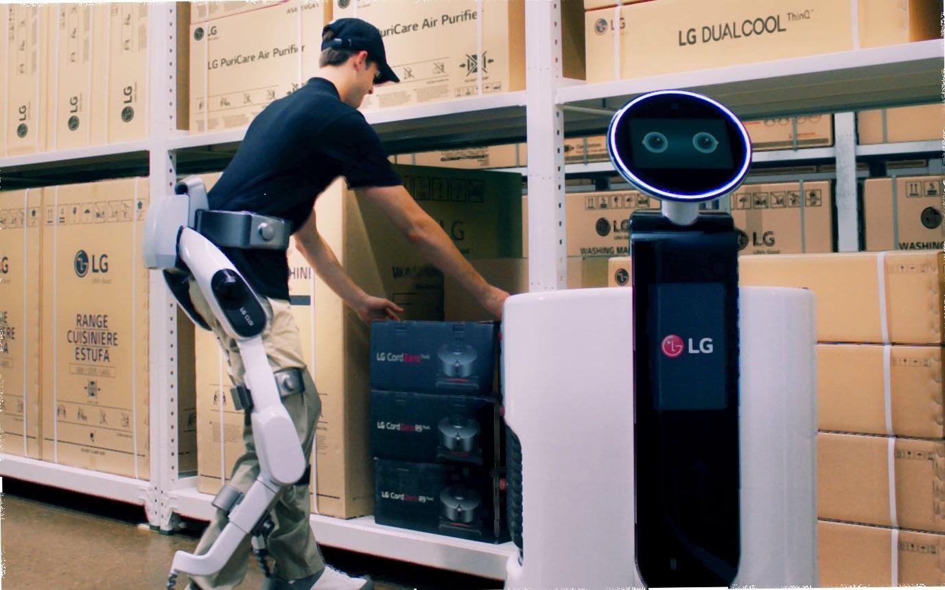 CES: SERVICIO INTELIGENTE DE ROBOTS DEFINE NUEVA DIRECCIÓN PARA LG