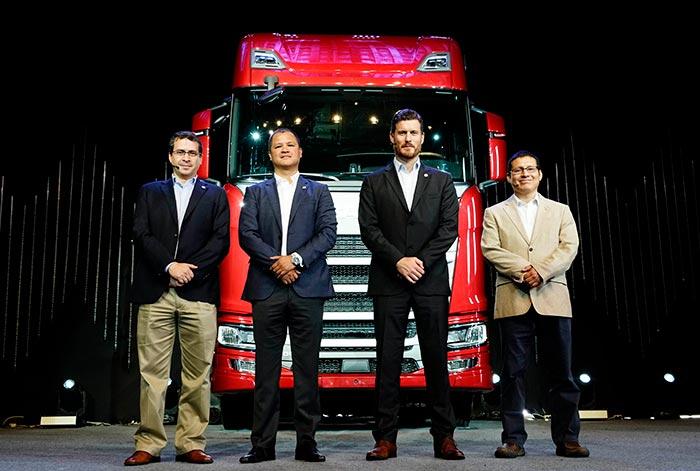 La nueva generación de camiones Scania llega al Perú