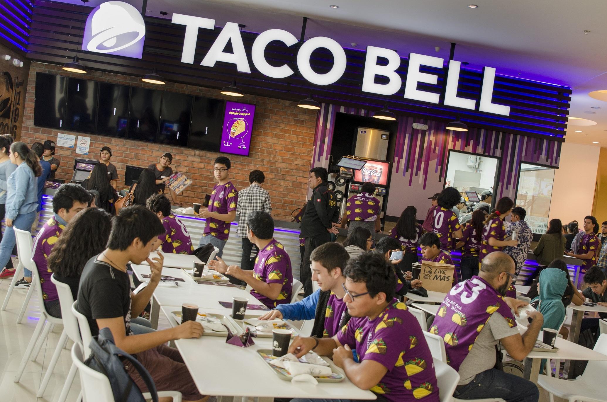 Exitoso debut de Taco Bell en el Real Plaza Salaverry