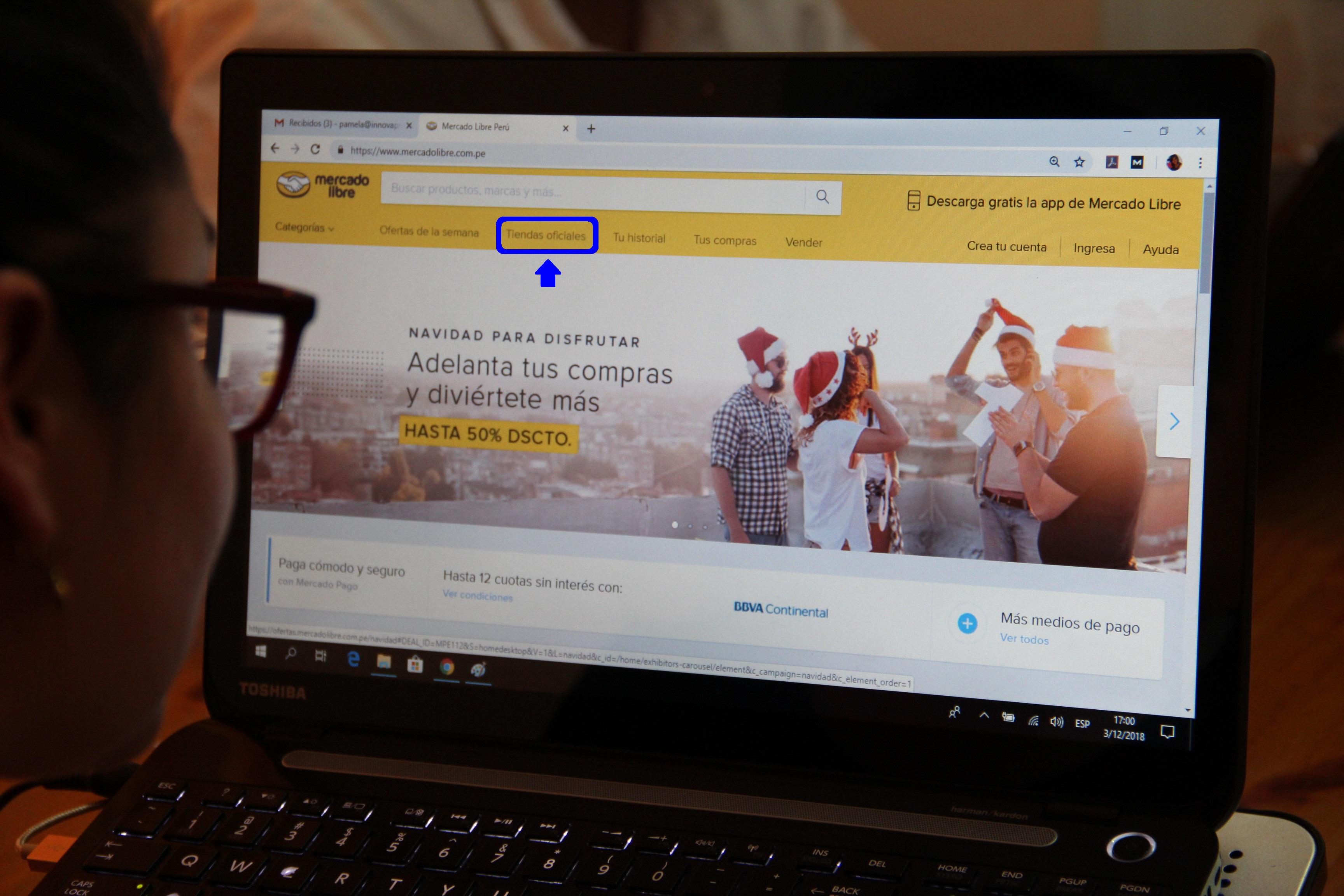 Tiendas Oficiales ya representa el 10% de las ventas de Mercado Libre Perú