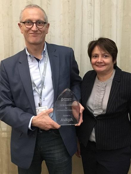 Avaya Gana el Premio Aragón Research Innovation 2018 por la Inclusión de Inteligencia Artificial (AI) en sus Soluciones de Colaboración Centrada en las Personas