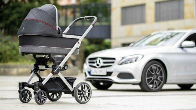 Mercedes-Benz presenta primer coche para bebés