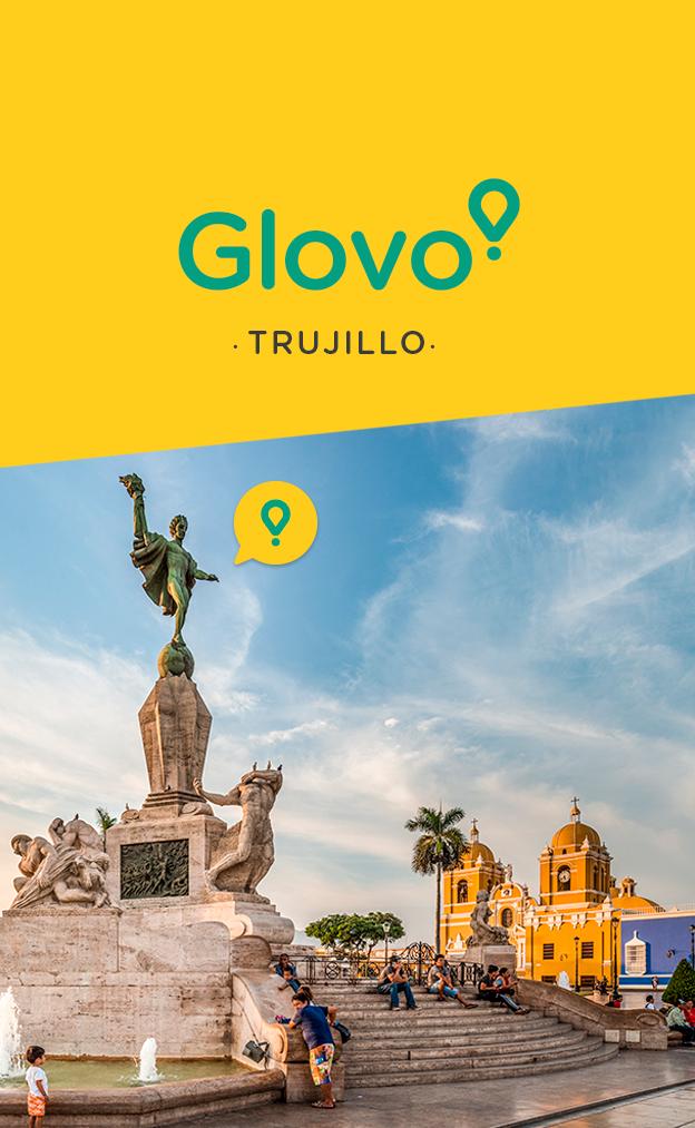 Glovo expande sus servicios en Trujillo