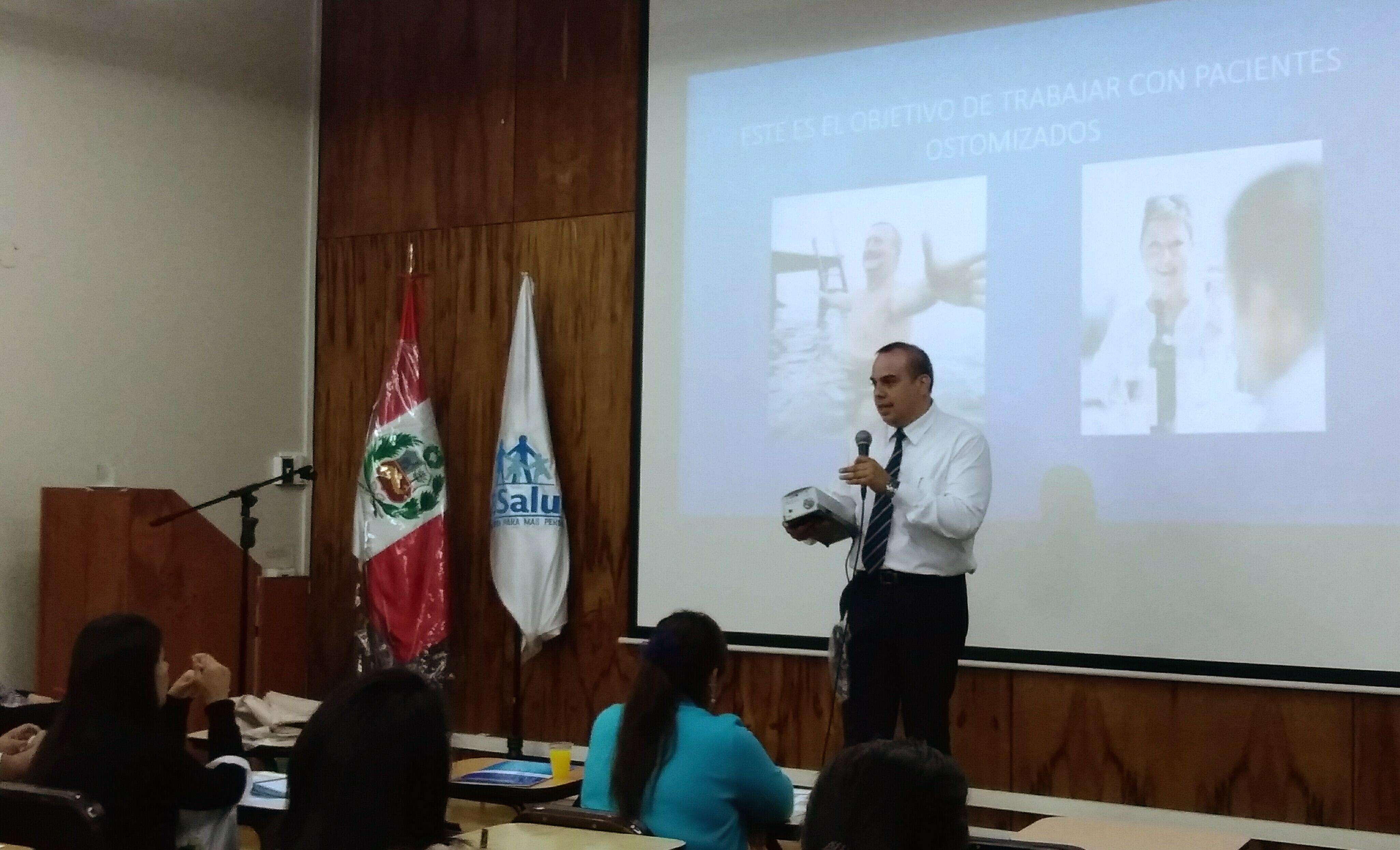 Equipamiento Médico Falav participó en curso dirigido al personal de enfermería del Hospital Nacional Edgardo Rebagliati