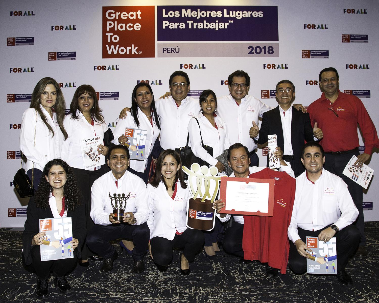 Compartamos Financiera es la cuarta mejor empresa para trabajar según ranking Great Place to Work