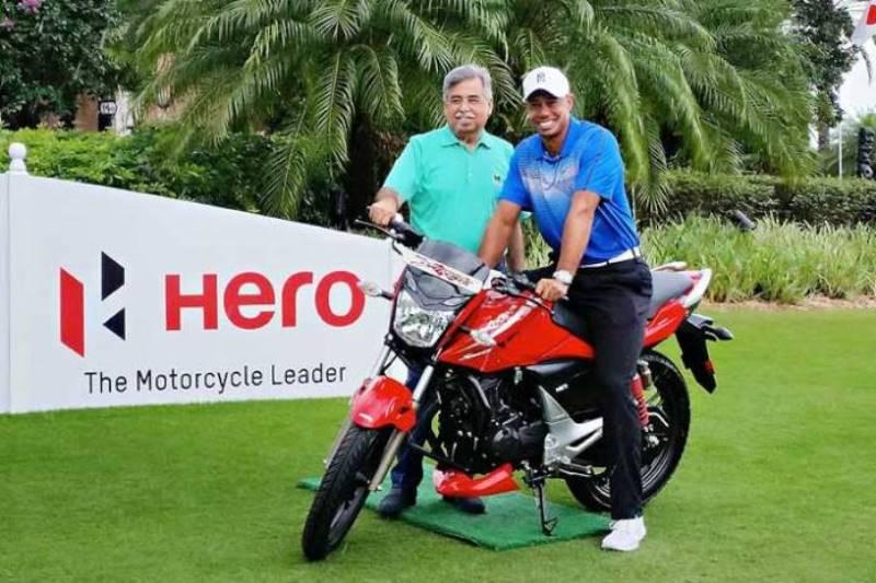 Hero Moto renueva su vínculo con Tiger Woods