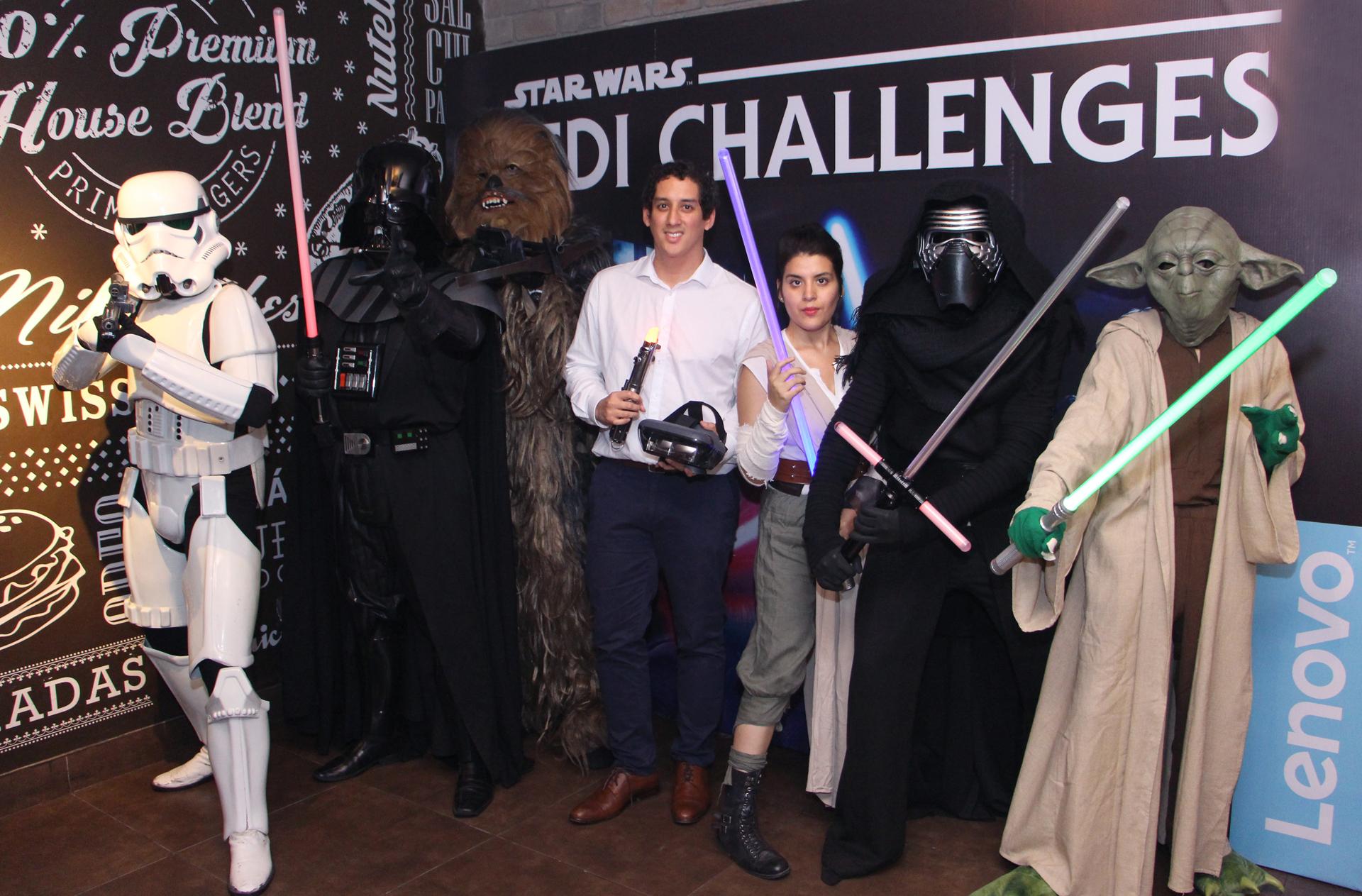 La experiencia de Star Wars: Jedi Challenges llega a Perú gracias a Lenovo y Disney