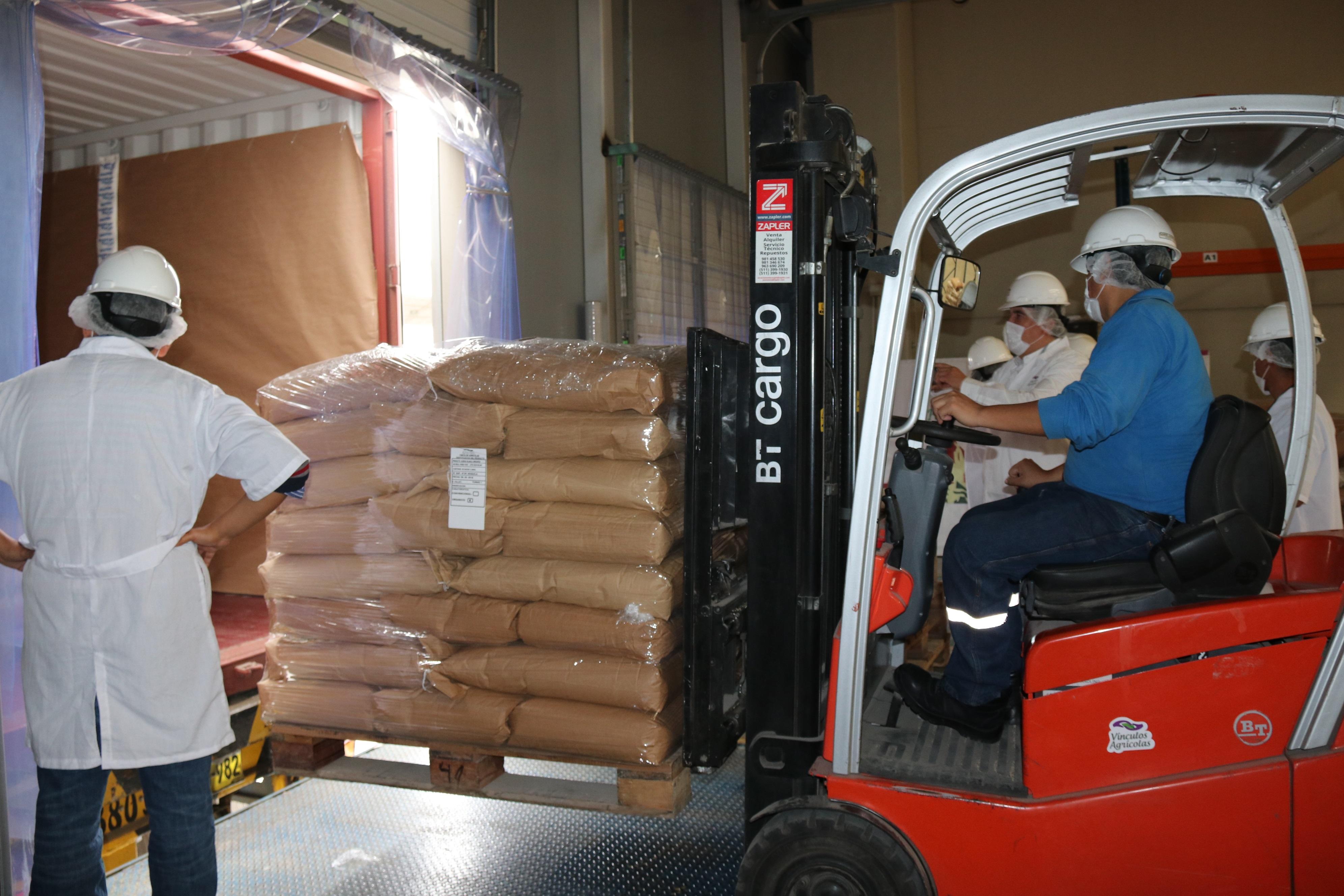 Productores de quinua orgánica de la sierra liberteña exportan por primera vez a Francia