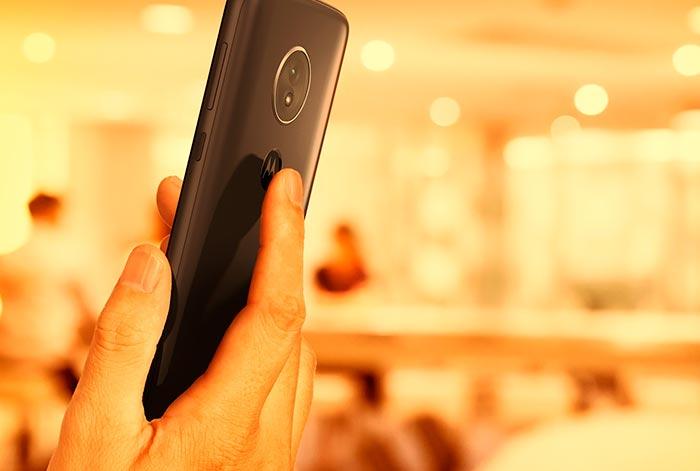 Smartphone seguro con tu huella dactilar
