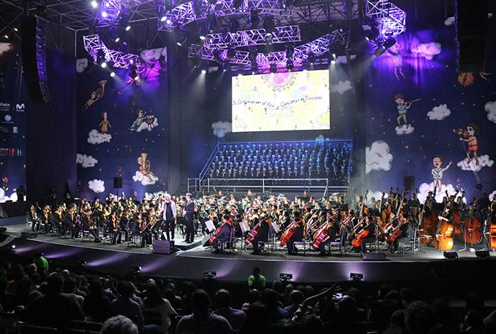 El arte de Fito Espinosa y la tecnología HP se suman al concierto navideño de Sinfonía por el Perú