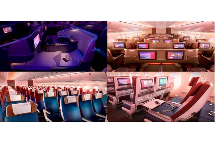 Así serán las nuevas cabinas de LATAM