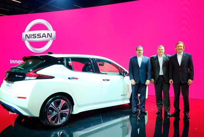 Nissan electrifica el Salón del Automóvil de São Paulo 2018