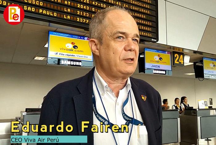 Entrevista de la semana / Viva Air inauguró nueva ruta Lima – Jaén