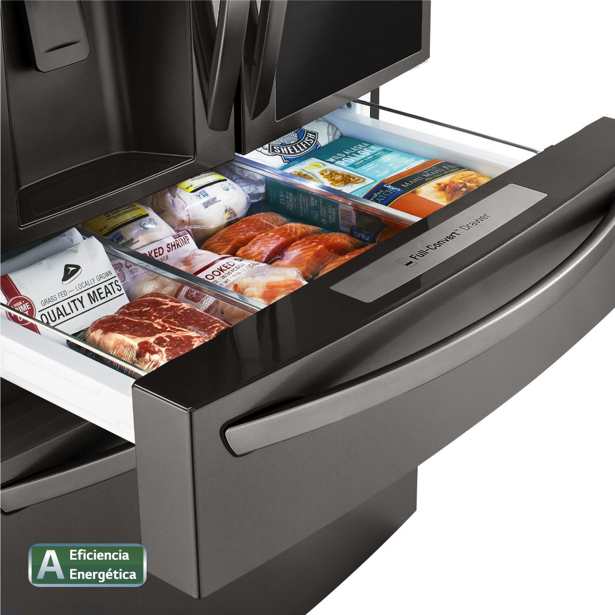 lg lanza refrigeradora con tecnología craft ice+