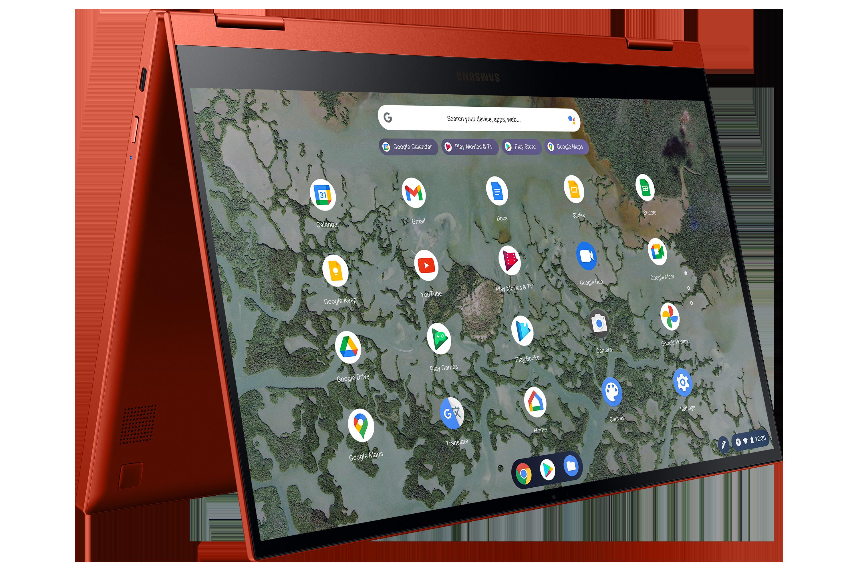 La excelencia ahora es estándar con el Galaxy Chromebook 2, el primer Chromebook QLED del mundo