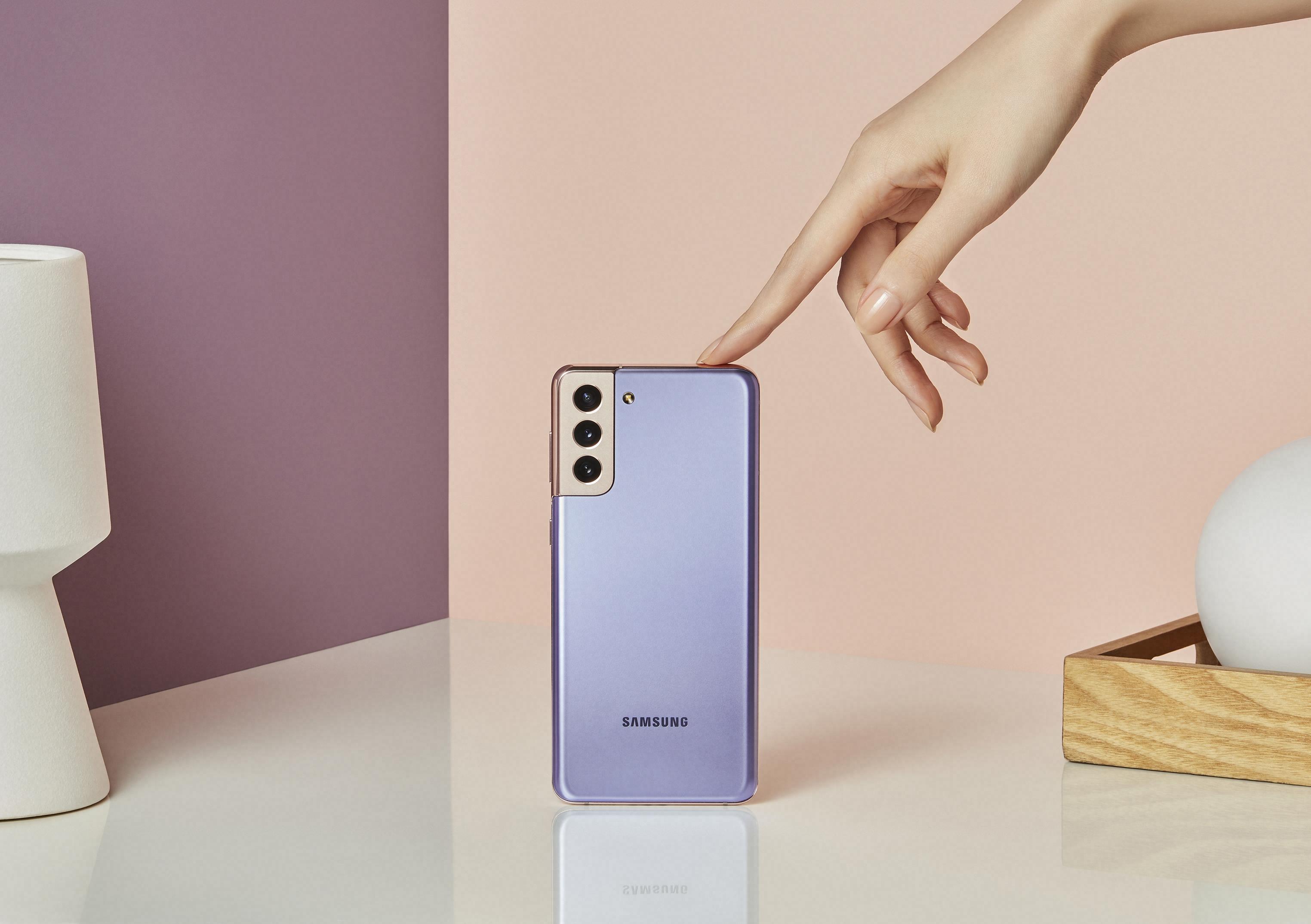 Haz que cada día sea épico con Samsung Galaxy S21 y Galaxy S21+
