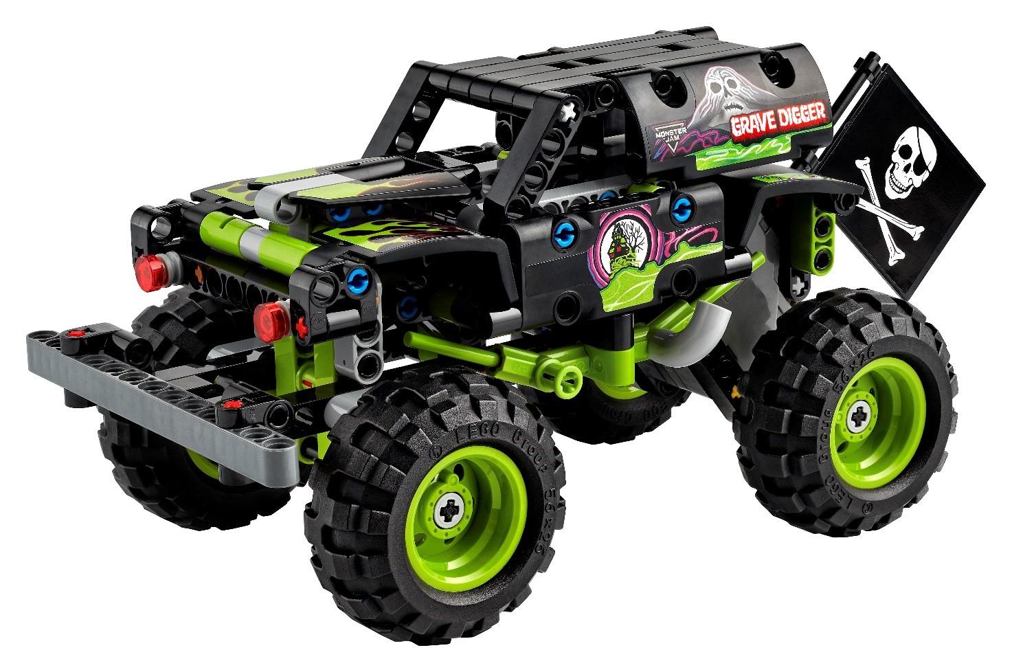 Lego presenta dos nuevos modelos de camiones monstruo