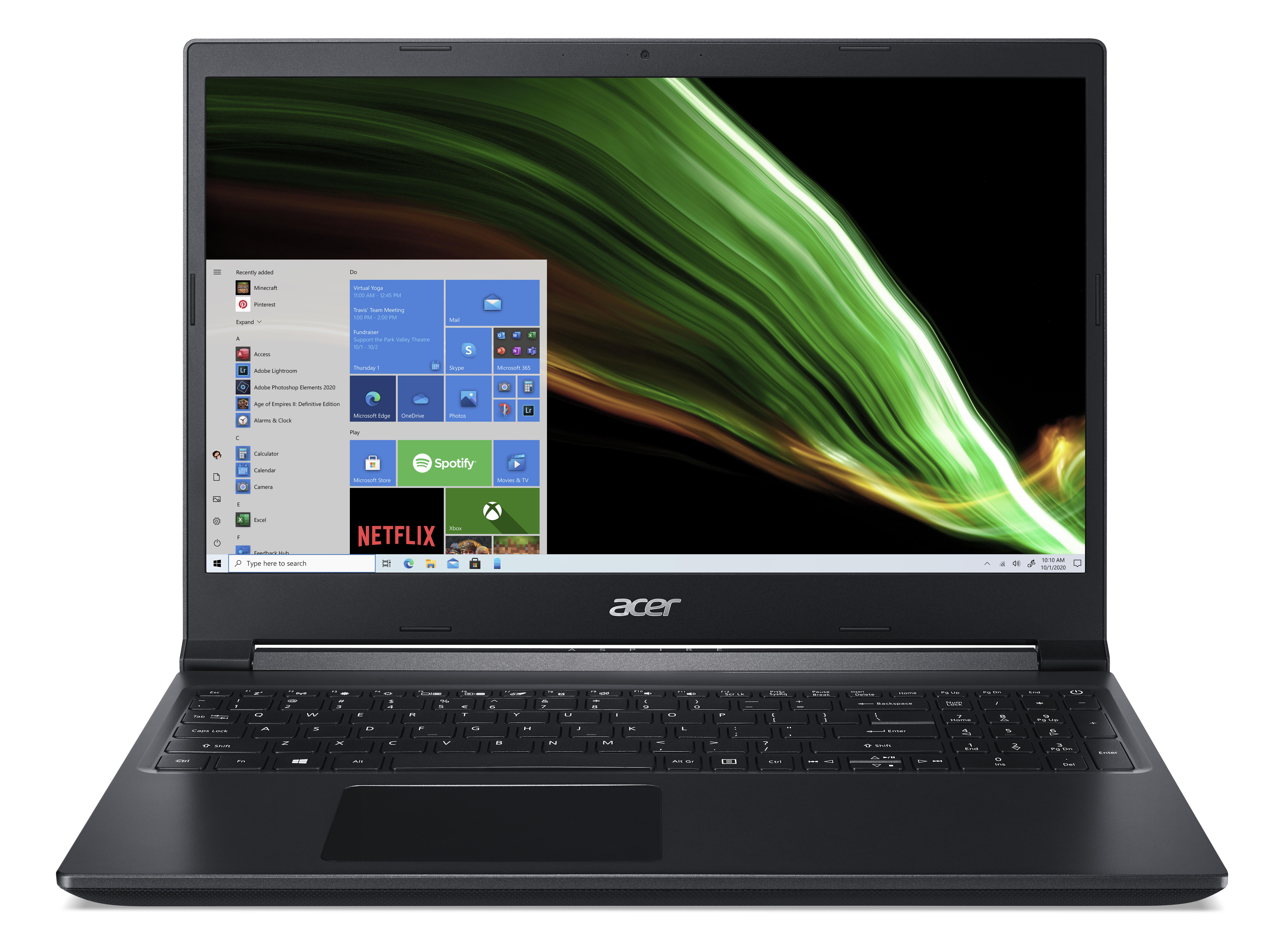 Acer presenta las notebooks Nitro y Aspire