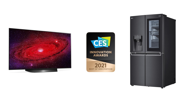 lg es honrado con los premios a la innovación ces 2021