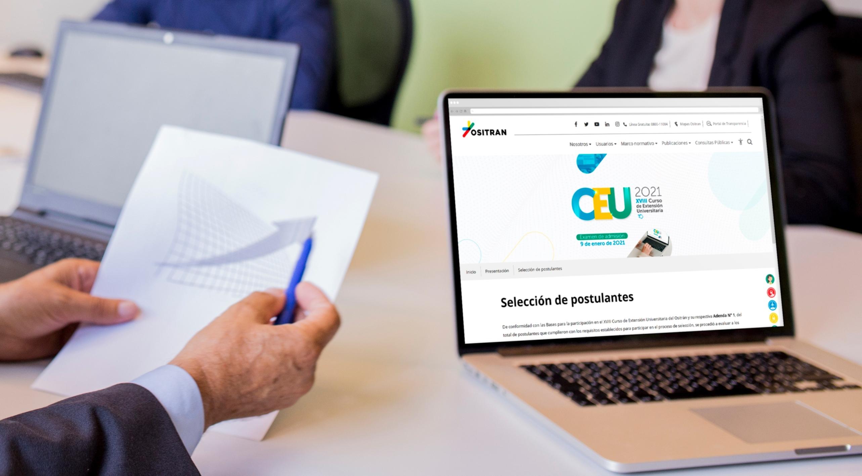Estudiantes de regiones destacan en postulación al curso de extensión universitaria del Ositrán